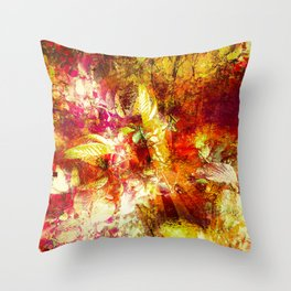 """""""Nature's Palette"""" Throw Pillow"""