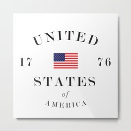 United States 1776 Metal Print