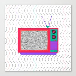 Television Noise Canvas Print