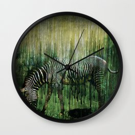 Flowing Stripes Wall Clock