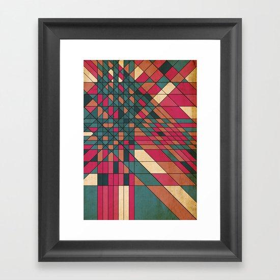 kriskras Framed Art Print