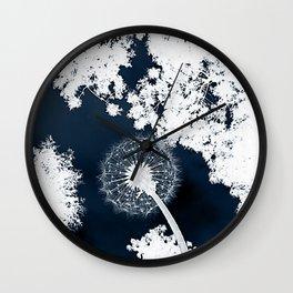 Diente de León Wall Clock