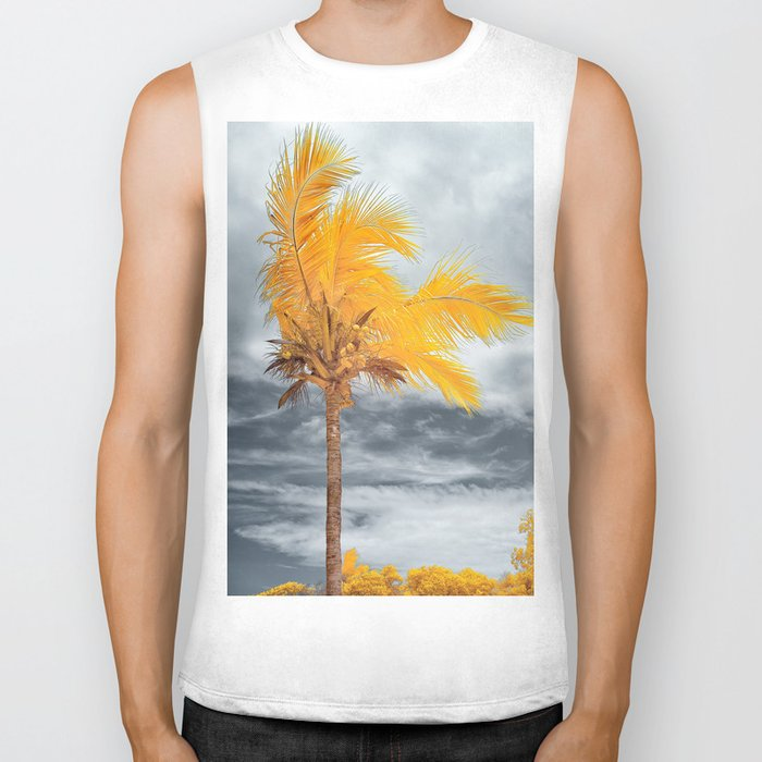 Coconut Tree Biker Tank