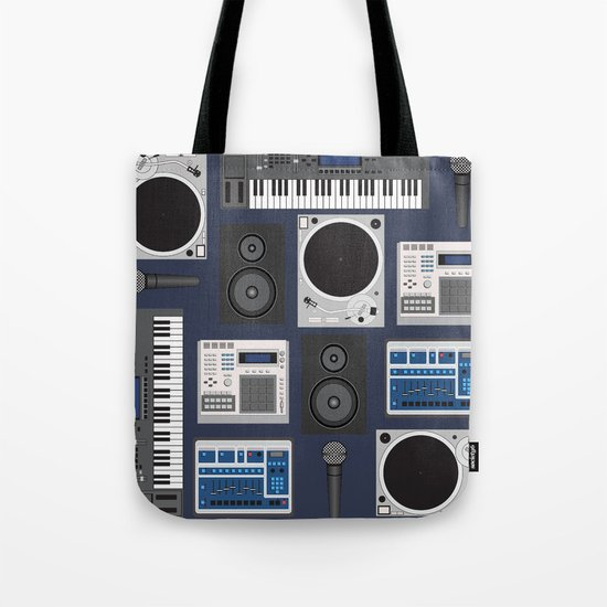 Old School Producer  Tote Bag