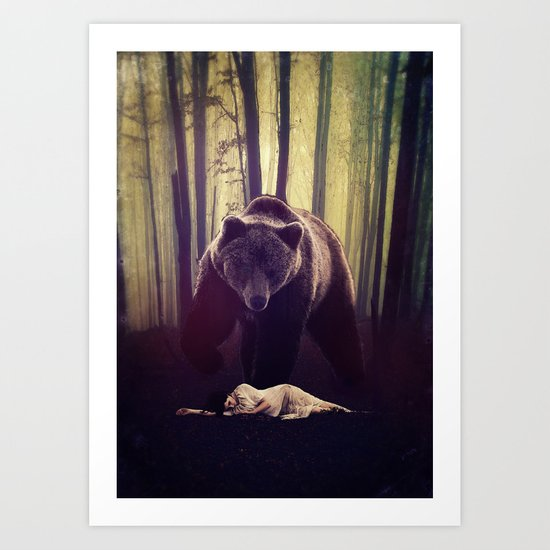 Someone's watching over me Art Print