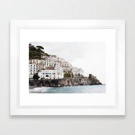 Amalfi Coast Framed Art Print
