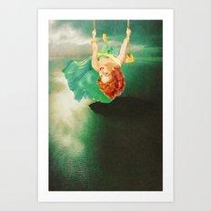 Hanging On Art Print