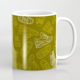 Sneakers // Khaki Coffee Mug
