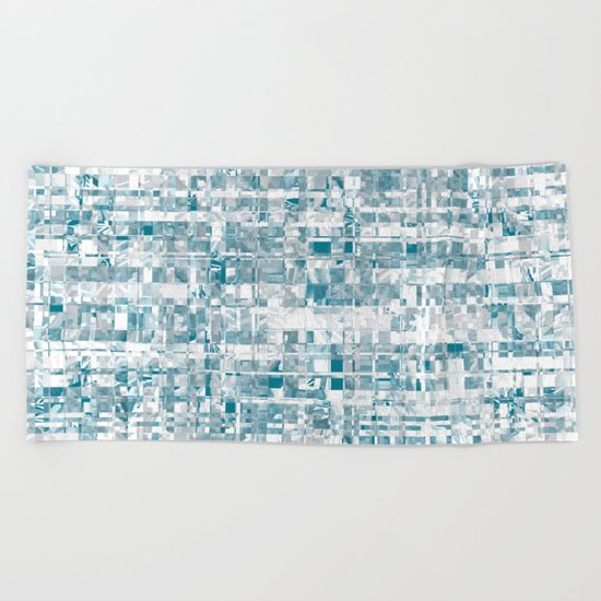 Abstract pattern 121 Beach Towel