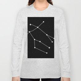 GEMINI (BLACK & WHITE) Long Sleeve T-shirt