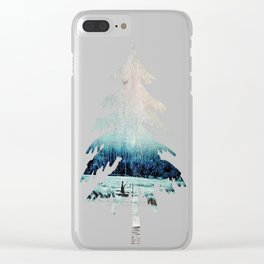 The Last Winter Clear iPhone Case