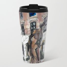 Paris Sketchbook Travel Mug