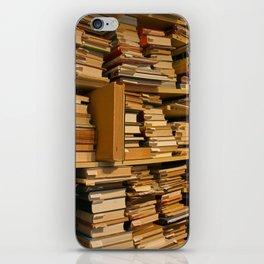Books, books, books   Buecher, Buecher, Buecher iPhone Skin