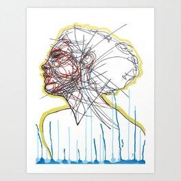 Sleep and a Forgetting Art Print