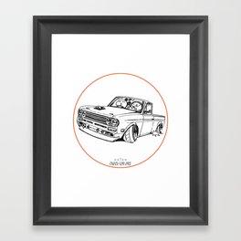 Crazy Car Art 0188 Framed Art Print