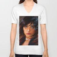 bioshock infinite V-neck T-shirts featuring Broken Skies - Bioshock Infinite by AlexRusso