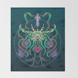 Nameless Fiend Throw Blanket