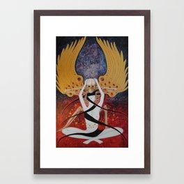 Release...The Stuff of Stars Framed Art Print