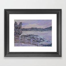 Winter Passion Framed Art Print