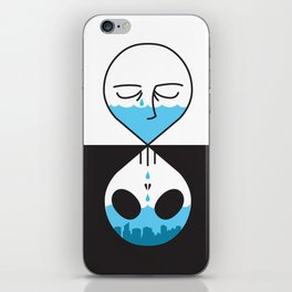Dead Cover iPhone Skin
