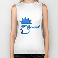 sound Biker Tanks featuring Sound by Zeep Design