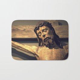 Crucified Christ Bath Mat