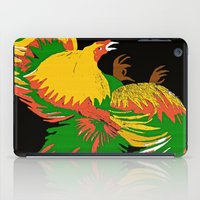 rooster iPad Cases featuring Rooster by Saundra Myles