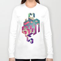 spires Long Sleeve T-shirts featuring isyhyrtt dyymyndd spyyre by Spires