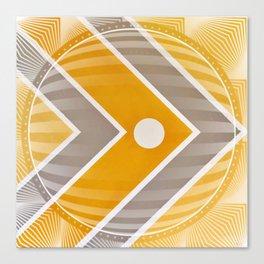 Fish - 3D graphic Canvas Print