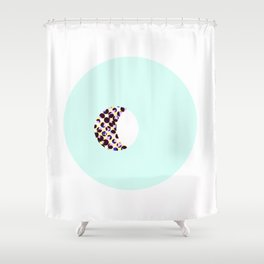 Mint Shower Curtain