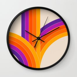 Bounce - Rainbow Wall Clock