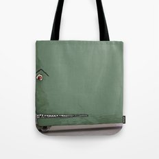 Door monster Tote Bag