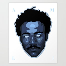 """Childish Gambino """"Awaken, My Love!"""" Art Print"""