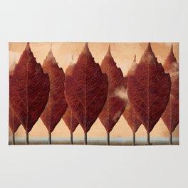Lupo d'autunno Rug