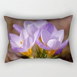 Blooming purple Rectangular Pillow