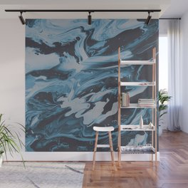 SLEEP ON THE FLOOR Wall Mural