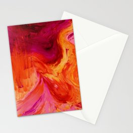 Abstract Hurricane II by Robert S. Lee Stationery Cards