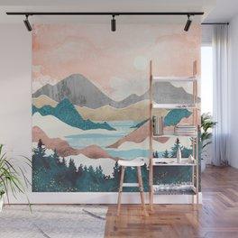 Lake Sunrise Wall Mural