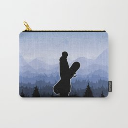 Snowboard Skyline Stand Carry-All Pouch