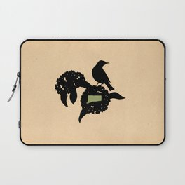 Connecticut - State Papercut Print Laptop Sleeve