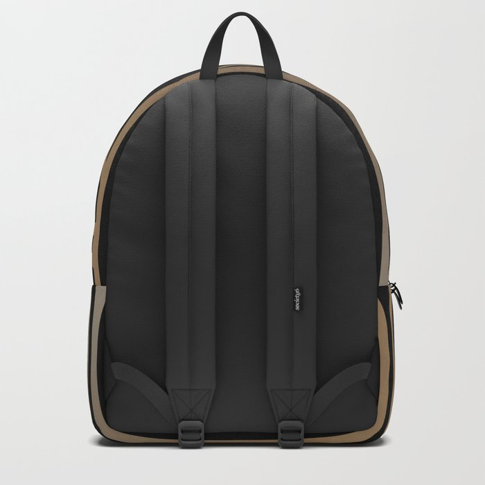 BLACK AND GOLD 2 (abstract art deco geometric) Backpack