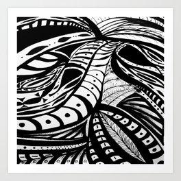 Gaia Garden Art Print