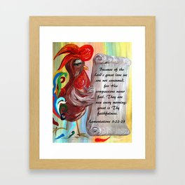 His Compassions are New Every Morning Framed Art Print