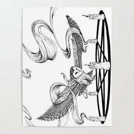 Mystic Owl Poster