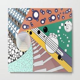 Spiral INTO Inspiration Metal Print