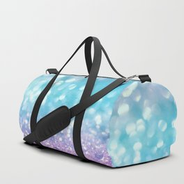 Summer Mermaid Girls Glitter #2 #shiny #decor #art #society6 Duffle Bag