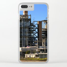 Natural Gas Power Plant Clear iPhone Case