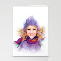 sport Stationery Cards featuring sport by tatiana-teni