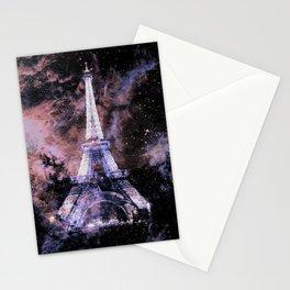 Paris Dreams Peach Mauve Lavender Stationery Cards