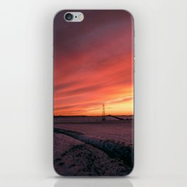 Winterfire Sky iPhone Skin